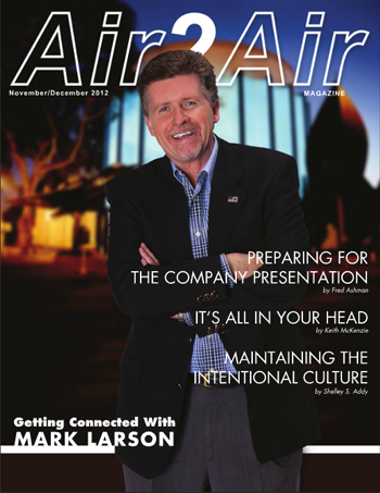Mark Larson in Air2Air magazine.